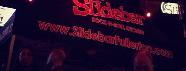 The Slidebar Rock-N-Roll Kitchen is one of My favorite Pubs and clubs.