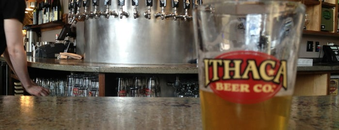 Ithaca Beer Co. Taproom is one of Brooklyn Pour Breweries 2012.