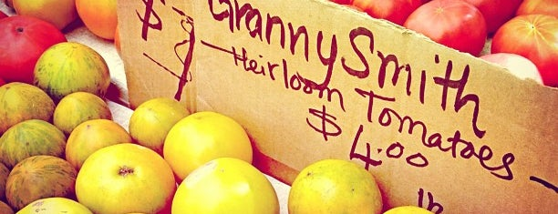 Dag Hammarskjold Greenmarket is one of New York Favorites.