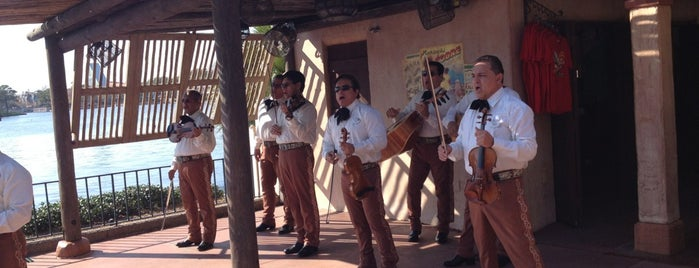 Mariachi Cobre is one of Epcot World Showcase.