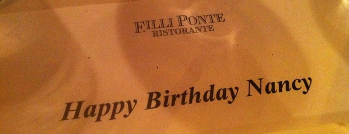 F.illi Ponte is one of test.