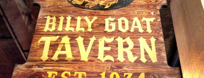 Billy Goat Tavern is one of my favorite places.