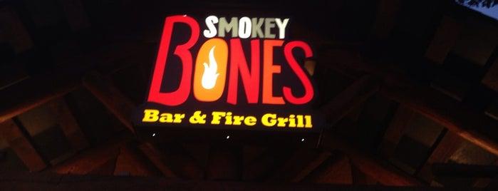 Smokey Bones Bar & Fire Grill is one of Favorite Restaurants.