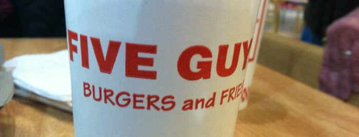 Five Guys is one of Harrisonburg.