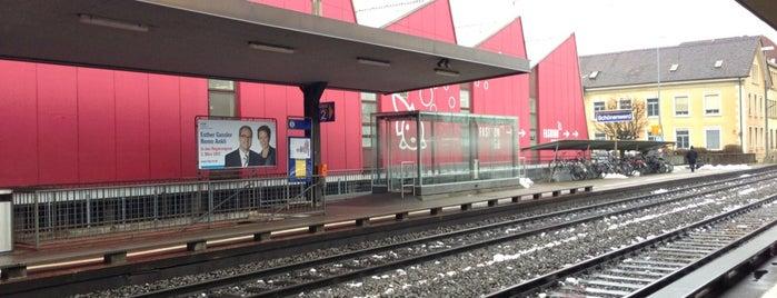Bahnhof Schönenwerd is one of Bahnhöfe Top 200 Schweiz.