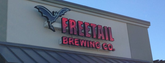 Freetail Brewing Company is one of Texas Craft Breweries.