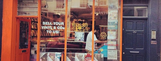 Reckless Records is one of Bin Flipping: Record Shops #vinyl.
