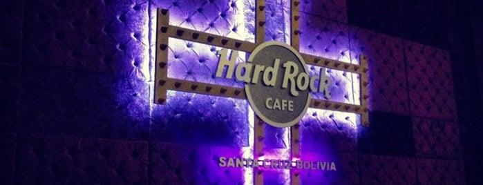 Hard Rock Cafe Santa Cruz is one of Wifi grátis em Santa Cruz Bolívia.