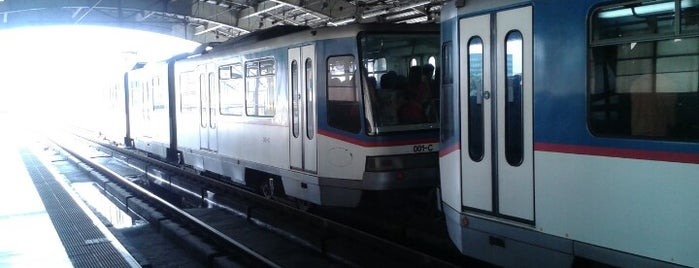 Yellow Line - Araneta Center-Cubao Station is one of Usuals.