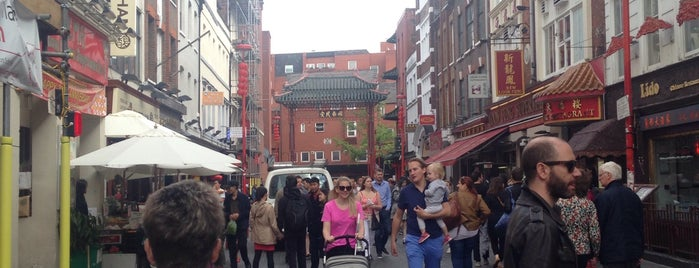 Chinatown is one of Must-visit Great Outdoors in London.