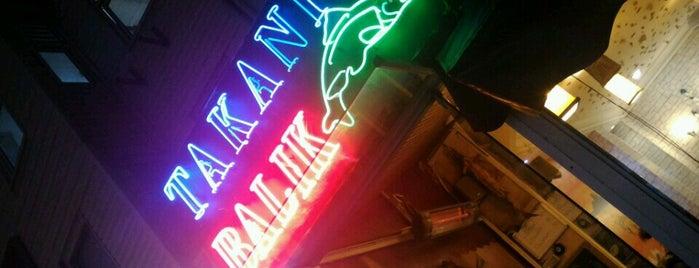 Takanik Balık is one of Best Food, Beverage & Dessert in İstanbul.