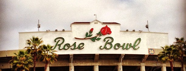 Rose Bowl Stadium is one of U2 North America.