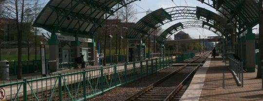 Galatyn Park Station (DART Rail) is one of DART Orange Line.