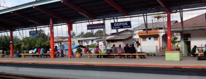 Stasiun Depok Lama is one of sweet palace.