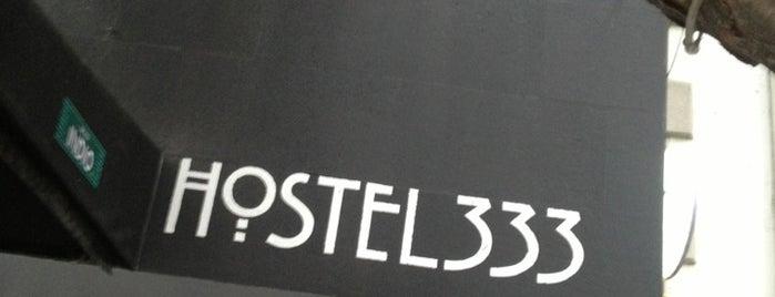 Hostal 333 is one of Lo que no me puede faltar antes de morir.