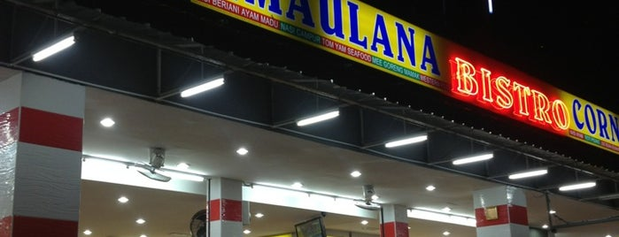 Maulana Bistro is one of Eateries around UPM Campus.