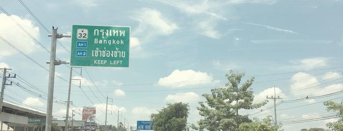 Ang Thong is one of Bkk - Lopburi Way.