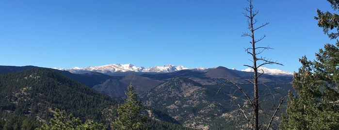 Flagstaff Rd Hike Trail is one of Boulder Area Trailheads #visitUS.