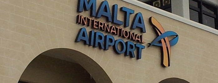Malta International Airport (MLA) is one of Airports visited.