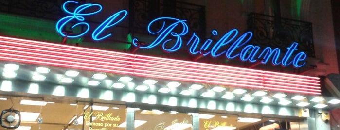 El Brillante is one of Algunos de mis sitios favoritos para comer.