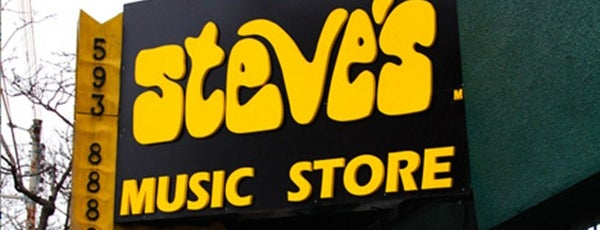 Steve's Music Store is one of Music Toronto.