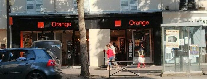 Orange is one of Paris, FR.