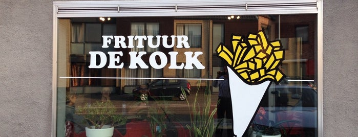 Frituur De Kolk is one of Frietchinezen.