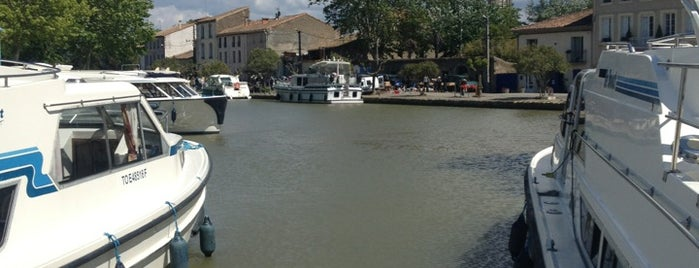 Port d'Homps is one of Canal du Midi.