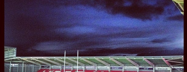 Parc y Scarlets is one of Shelbyart's Favourite Places.