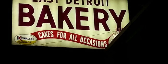 East Detroit Bakery is one of Just Everyday Places.