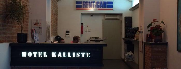 Hotel Kalliste is one of Corsica.