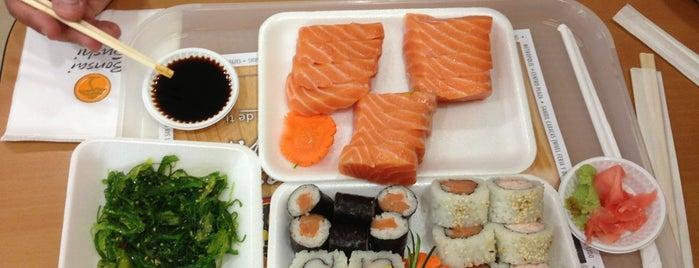 Bonsai Sushi is one of Comida.