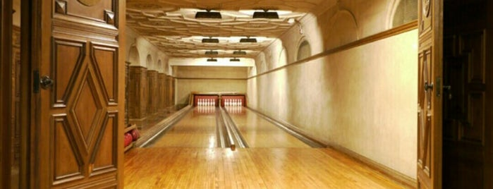 The Secret Bowling Alley is one of Bowling Venue.