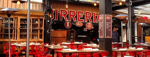 Birreria at Eataly is one of Day Drinking in the Great (NYC) Outdoors.