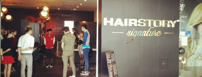 Hairstory international is one of Gurney Paragon.