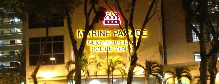 Marine Parade Neighbourhood Police Centre is one of Singapore Police Force.