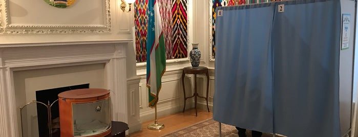 Embassy Of The Republic of Uzbekistan is one of Members.