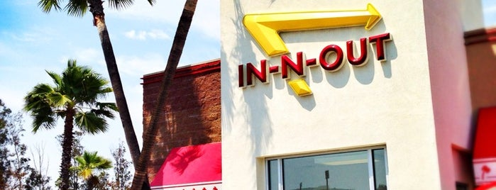 In-N-Out Burger is one of Places to go.