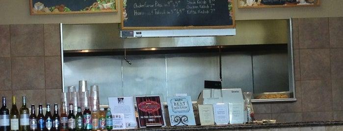 Zabak's Mediterranean Cuisine is one of Houston Press - 'We Love Food' - 2012.