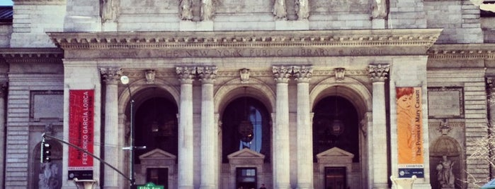 New York Public Library is one of New York.