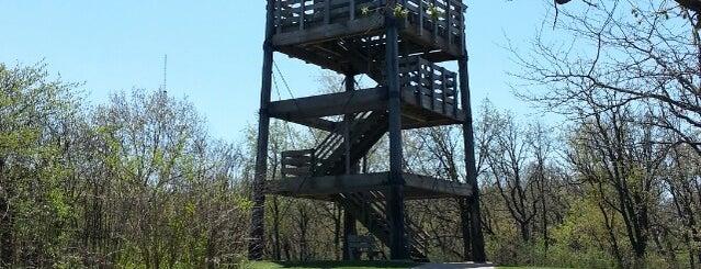 Lapham Peak Observation Tower is one of Waukesha.