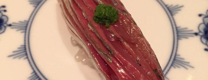 Sushi Nakamura is one of Michelin Guide Tokyo (ミシュラン東京) 2012 [*].