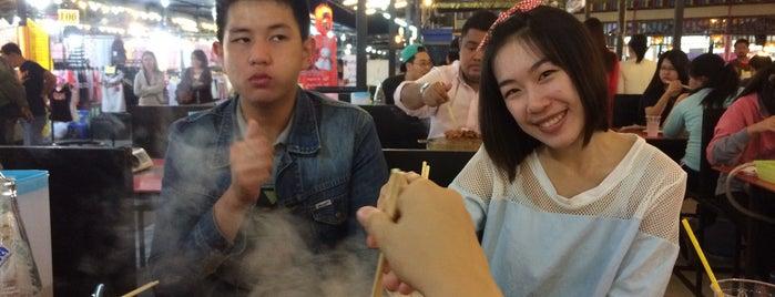 กินซ่ากะทะทอง (มาลินพลาซ่า) is one of Favorite Food.