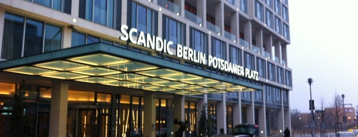 Scandic Berlin Potsdamer Platz is one of maybe some day....