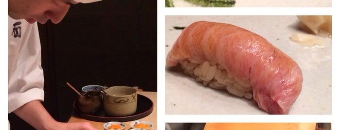 Nishiazabu Taku is one of Michelin Guide Tokyo (ミシュラン東京) 2012 [***&**].