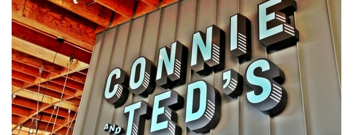 Connie and Ted's Seafood is one of Top 50 restaurants in LA.