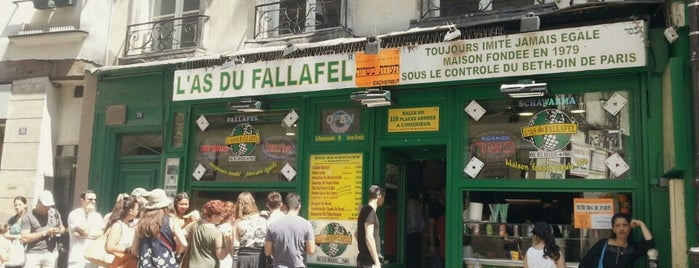 L'As du Fallafel is one of Bart in Paris.
