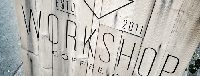 Workshop Coffee Co. is one of 100+ Independent London Coffee Shops.