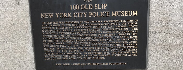 New York City Police Museum is one of museums NYC.