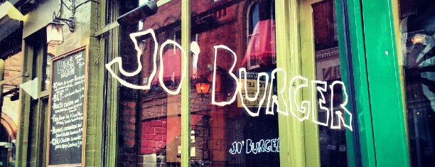 Jo'Burger is one of Dublin.